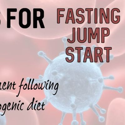 fasting jump start to ketogenic diet