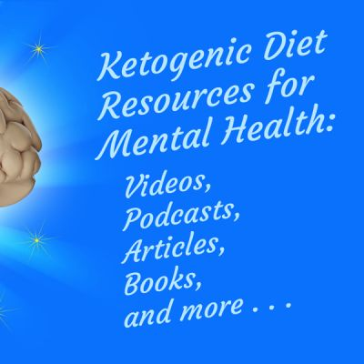 healthy glowing brain - Ketogenic Diet Resources for Mental Health