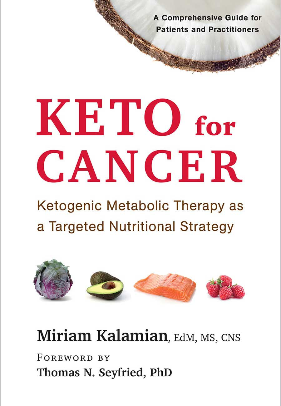 Keto for Cancer book cover