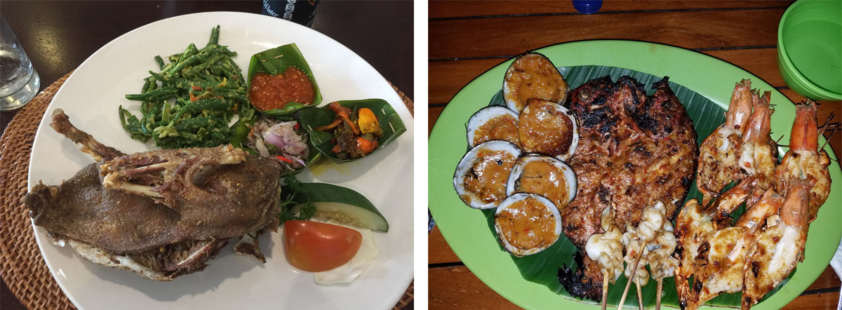 Low Carb Indonesia—Bali food