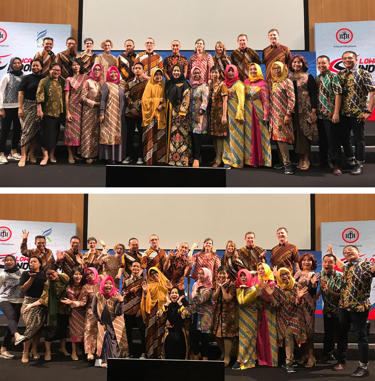 Low Carb Indonesia conference—speakers and organizers
