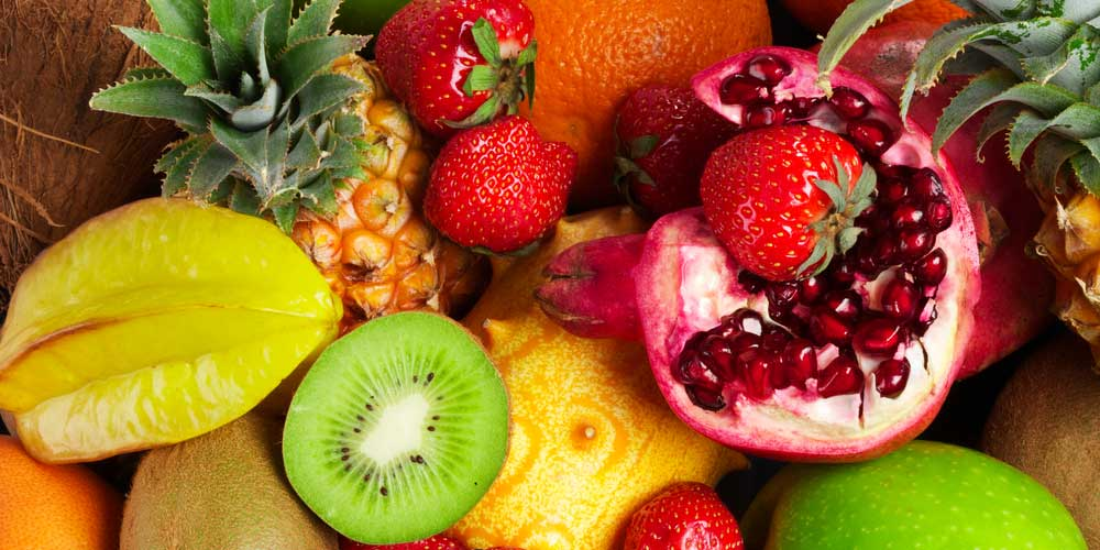 brightly colored fruit that causes fructose malabsorption